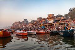 Varanasi, India (Ninara) Tags: varanasi india uttarpradesh ghat ganges ganga gangaaarti sadhu nagasadhu sunrise morning bathing holycity dashashwamedhghat kashi benares