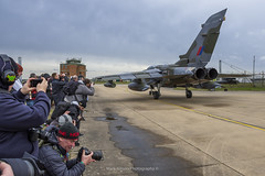 RAF Marham Farewell Tornado Enthusiast Day (Mark_Aviation) Tags: raf tornado gr4 zg752 gr4t has hardened aircraft shelter marham royal air force pa200 ids adv taxi takeoff landing overshoot go around farewell farewelltornado enthusiast day 2019 march 8th camo orginal special scheme livery
