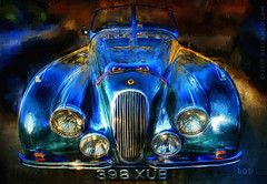 Ride Like The Wind (sbox) Tags: cars jaguar sportscars british hdr painting painterly classic classiccars declanod sbox autos