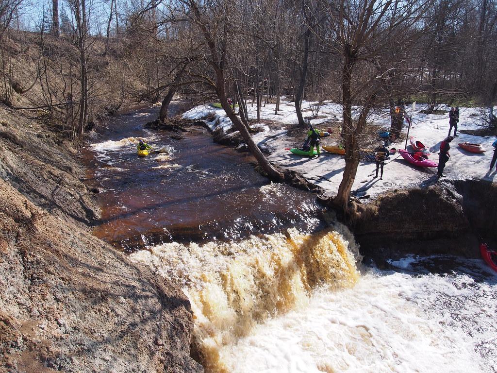 фото: Waterfall on the Sablinka River