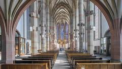 Marienkapelle Würzburg (staetebau) Tags: deutschland germany würzburg marienkapelle indoor gotik architektur gothicarchitecture katholisch kirche catholicchurch innenraum interieur interior kirchenschiff nave
