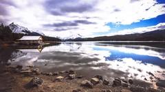 Lakeside ...... (Rockin' Daddy) Tags: jasper jaspernationalpark alberta canada canadianrockies rockymountains lake water waterfront mountains scenic boathouse