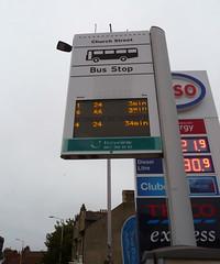January 7th, 2018 Buses due (karenblakeman) Tags: churchstreet caversham uk busstop sign displayboard january 2019 2019pad reading berkshire