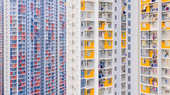 Little Boxes - Hong Kong Aerial Photography Art (tobyharriman) Tags: 2018 hongkong abstract aerial apartments art artist blocktower china complex drone estates highrise homes housing kowloon living photography pictures planetunicorn population publichousing putv rental residences skyscraper toby tobyharriman towers
