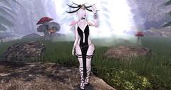 The Oracle (Nova Bean) Tags: secondlife second life fantasy medieval elf elven oracle magic mystic ancient blind sight aura skull bones petite voodoo forest woods enchanted enchantment mushroom trees grass field