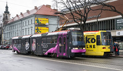 Bratislava tramway: Tatra K2S # 7106 (Amir Nurgaliyev) Tags: tatrak2s bratislavatramway dpb