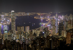 it only dark if someone turn the lights off (Wizard CG) Tags: china hong kong peak the victoria sun set view vista lights skyscrapers skyline travel trip journey holiday wizard cg island hdr magic city epl7 architecture outdoor water waterfront sky boat building sunset mountain bay night longexposure