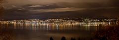 Lausanne vue d'Evian. (schatanay) Tags: hautesavoie lac poselongue lausanne evian vaud suisse eos5dmarkiii léman panorama nocturne ef2470mmf28liiusm france canon rhonealpes cantondevaud ch