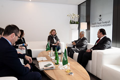 Karin Kneissl beim World Economic Forum in Davos