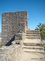 Castelo de Castelo Branco - Torreão Medieval (Sofia Barão) Tags: portugal castelo branco beira baixa castle