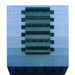 Floating Box (2n2907) Tags: blue green abstract architecture photo minimal cubist