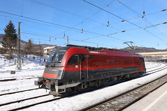 ÖBB 1216 020-8 Railjet, Kufstein (TaurusES64U4) Tags: öbb taurus 1216