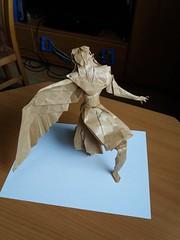 Icarus Hojyo Takashi (kex_er) Tags: origami art icarus hojyo takashi craft paper photo 2019