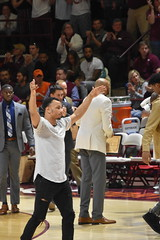 JUSTIN ROBINSON (SneakinDeacon) Tags: vt vatech virginiatech hokies bluedevils duke acc basketball cassell coliseum