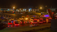 Night lights (NoVa Truck & Transport Photos) Tags: truck big rig 18 wheeler 2017 large car mag southern classic ta lexington va