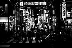 Tokyo Nights. Japan (teresapilcher) Tags: japan street streetphotography sony sonymirrrorless silhouette shadow monochrome travel tokyo explore