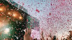 confetti #forecastle (vhickey25479) Tags: summer concert confetti forecastle