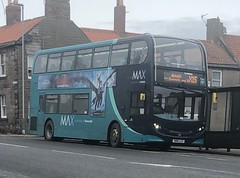 Arriva North East 7556 SN15 LLG (08/03/2019) (CYule Buses) Tags: servicex15 arrivamax arrivabus arrivanortheast enviro400 alexanderdennis alexanderdennisenviro400 sn15llg 7556