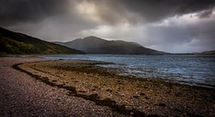 Stripes (Phil-Gregory) Tags: nikon d7200 tokina1120mmatx tokina 1120mmproatx11 1120mm ultrawide wideangle scotland scenicsnotjustlandscapes landscapes water beach clouds cloudscape