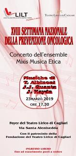 Concerto annuale della Ensemble Mixis di musica etica