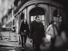 Pulso (una cierta mirada) Tags: city urban madrid street people women men walking bnw blackandwhite panasonic dmcgx8 lumix vario