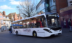 LandFlight Travel Services (Silverline) ADL Enviro200MMC, YW68 PFK (paulburr73) Tags: