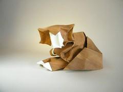 Cat - Gachepapier (Rui.Roda) Tags: origami papiroflexia papierfalten chat gato cat gachepapier