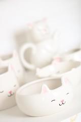 Cat Crockery (haberlea) Tags: home athome bowl bowls crockery china cat cute