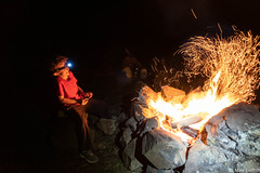 The Fire Roars (Mark Griffith) Tags: ancientlakes annual backpacking camping desert dustylake easternwashington overnighter quincy sonyrx100va traditions washington 20190329dsc01865