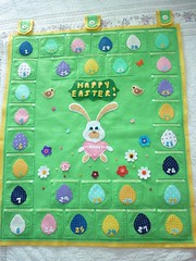 easter countdown (katuchabatkivna) Tags: easter bunny countdown etsy handmade pascua