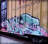 nychos (timetomakethepasta) Tags: nychos bande lords jbcb freight train graffiti art ttx boxcar