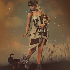 Starry (✰✰Nubyia Photography✰✰) Tags: nubyia cinnamoncocaine sparkle ghostyss kryssghost fashion jian nomatch dogs secondlife sl blogging blog