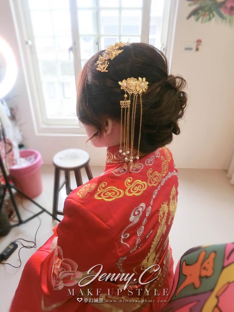 【新秘蓁妮】bride雨婕 訂結婚造型 / 蘭庭農莊花園餐廳