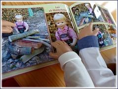 Der Waldarbeiter / The forest worker (ursula.valtiner) Tags: buch book fotobuch photobook puppe doll luis bärbel künstlerpuppe masterpiecedoll waldarbeiter forestworker