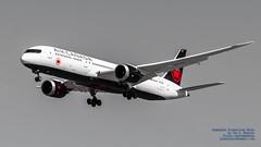 LOOKING UP AT AN @AIRCANADA 787 IN WHITE, BLACK, GREY, AND RED (AvgeekJoe) Tags: 787 787dreamliner 7879 aircanada boeing787 boeing787dreamliner boeing7879 boeing7879dreamliner cfvnb d5300 dslr dreamliner jetliners nikon nikond5300 aircraft airplane aviation jetliner plane