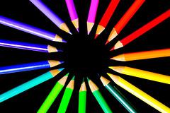 Color Wheel (Nicholas Erwin) Tags: colorful pencils art creative lines circle rainbowcolor closeup macro colorpencils contrast bright coloring drawing fujifilmxt2 fujixt2 xf60mmf24rmacro xf60 6024 fujixf6024 abstract fav10 fav25