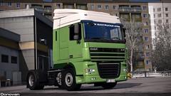 Download skin (Sergey Donovan) Tags: daf xf105 truck skin download eurotrucksimulator2 game