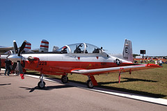 170408_021_SnF_Navy_T6 (AgentADQ) Tags: sun n fun flyin expo lakeland linder airport 2017 airshow florida airplane plane aviation us navy hawker beechcraft t6 texan ii trainer
