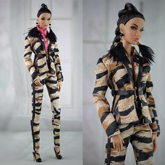 Fashion Royalty Nu Face Rayna Natural Wonder Fairytale convention (Regina&Galiana) Tags: fashionroyalty fashion fashiondoll nuface doll barbie outfit ooak forsale rayna raynanaturalwonder fr2