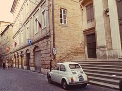 Fermo (simona300) Tags: fermo marche landscape streetphotografy streetphotography 500 fiat borgo