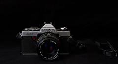 Minolta XG-1 #FlickrFriday (tpeters2600) Tags: canon madeinjapan rokkor flickrfriday eos7d rokkorlenses tamronspaf1024mmf3545diiildasphericalif minoltaxg1 minolta film stilllife