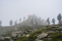 On the top of Snowdon, Wales (my.travels) Tags: snowdon snowdonia wales greatbritain unitedkingdom peak summit mountain hill people nikon d7200 climb
