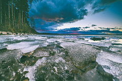 Ice land | Kaunas sea #59/365 (A. Aleksandravičius) Tags: girionys kaunas vasaris ice clouds wide angle marios kauno sea sky blue sunset nikon z7 nikonz7 mirrorless irix 11mm irix11mmf4 irix11mm kaunas2022 lithuania lietuva 2019 365one 365days 3652019 365 project365 59365 irixlens irix11