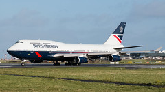 G-BNLY Boeing 747-400 British Airways Landor scheme at EIDW 9-3-19 (1 of 1)-3 (Conor O'Flaherty) Tags: gbnly british airways landor dublinairport dublin dub airport eidw repaint retro retrojet boeing 747 744 747400 jumbo queen runway aviation jet centenary ba100