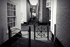 The Other Side (Chris Goodacre) Tags: photoscape chrisg35mm aldeburgh monochrome street motog4 android mobilephonecamera