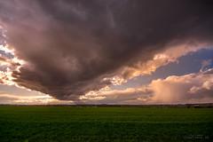 Wolken über BS Stiddien (Viewfreeze) Tags: broitzem stiddien wolken wetter unwetter regen sturm sonne braunschweig feld acker himmel