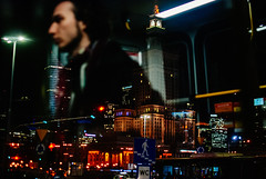 It's Complicated (ewitsoe) Tags: cityscape street warszawa winter erikwitsoe erikwitsoecom poland urban warsaw nightobservations night tram life man reflection colorful lights city mood atmosphere mystery vibe observe