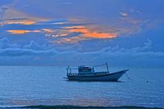 Tudo azul na manhã desse lugar... (Márcia Valle) Tags: barradecaravelas caravelas bahia inspirações mar sea verão summertime márciavalle nikon d5100 nature natureza brasil brazil
