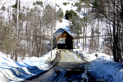 Flint Covered Bridge (pegase1972) Tags: us usa vt coveredbridge bridge pont unitedstates winter hiver neige snow vermont licensed eyeem dreamstime explore explored shutter shutterstock adobe fotolia adobestock