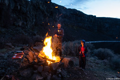 Build a Fire (Mark Griffith) Tags: ancientlakes annual backpacking camping desert dustylake easternwashington overnighter quincy sonyrx100va traditions washington 20190329dsc01840